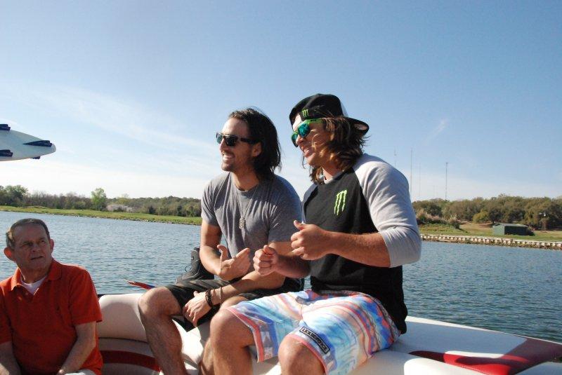 Tom Fooshee and Jake Owen