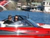 Jake Owen in the Boardstop/Wakeboarder.com Boat