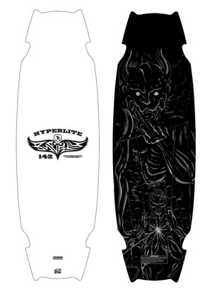 2005 Hyperlite 142 Wakeboard