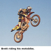 Brett Lee Motocross