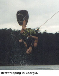 Brett Lee Wakeboarding